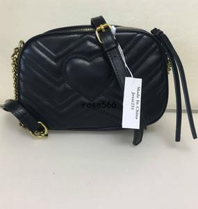 High Quality Designer Luxury Women Handbags Famous Gold Chain Shoulder Bags Crossbody Soho Bag Disco Shoulder Bag Purse Wallet 5 colors