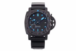 VS new 960 orologio di lusso 42mm diameter silicone strap movement watches super luminous carbon fiber dial designer watches