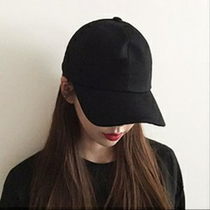 Hat spring and summer ladies solid color light board baseball cap female Korean version of the outdoor sunscreen shade cap trendy man