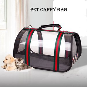 Borse Cani Gatti Zaino Pet Carrier Bag cane per Piccolo ecologico impermeabile antivento trasparente Dog Travel Bag