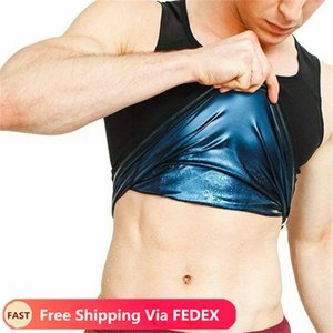Mens Neoprene Sweat Sauna Vest Corpo Shapers Vest cintura instrutor Slimming Vest Shapewear cintura Shaper do espartilho por Mulheres