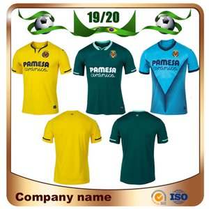 2020 Villarreal CF S.CAZORLA Camisetas de fútbol 19/20 Local CHUKWUEZE FORNALS Camiseta de fútbol visitante PEDRAZA MORENO EKAMBI IBORRA 3er uniforme de fútbol