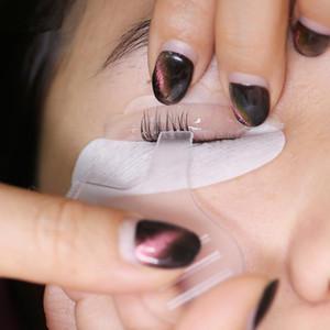 Ciglia pettine Bigodino trasparente Mascara Applicatore Trucco Pennello per sopracciglia Pennello per innesto di ciglia Occhi Strumento per trucco F2950