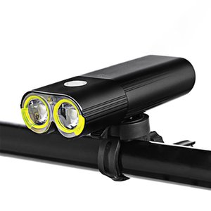Bike Professional IPX6 Waterproof 1600 Lumens Light Cycling Power Bank Bicycle Accessories USB Rechargeable Flashlight Lamp
