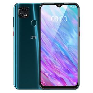 Original ZTE Lâmina 20 inteligente 4G LTE telefone celular 4GB RAM 128GB ROM Helio P60 Octa Núcleo 6,49 polegadas tela cheia 16.0MP Fingerprint ID Mobile Phone