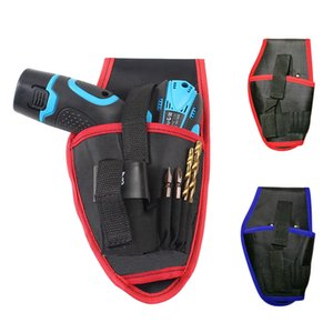 1 2pcs Electrician Tool Waist Tool Bag Portable Cordless Drill Holder Screwdriver Holster Electric Bags Accessories