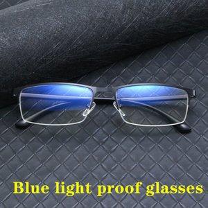 сплав Компьютер очки Анти Синий свет Блокировка фильтра уменьшает напряжение Digital Eye Clear Regular Gaming Eyewear Goggles TR90