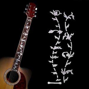 1 Pcs Tree Of Life Guitare Guitare basse Fretboard Lnlay vinyle autocollant Decal bricolage vigne plante Dsign Guitare basse Sticker