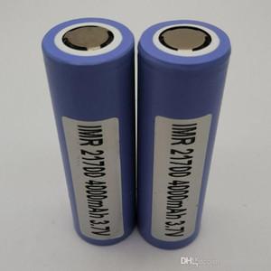 100% höchste Qualität Samsung 21700 Batterie 4000mAh 3.7V 40A 18650 Batterien wieder aufladbare Lithium-Batterie Fedex geben Verschiffen frei