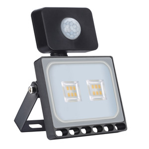 차고 정원 잔디 마당에 야외 LED 홍수 전등 10W IP65 방수 홍수 빛 작동 램프