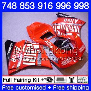 Kit para DUCATI 748 853 916 996 998 S R 94 95 96 97 98 rojo claro caliente 327HM.17 748S 853S 916R 996R 998S 748R 1994 1995 1996 1997 1998 1998