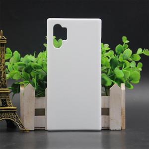 Bricolage 3D sublimation blanc couverture pour Samsung Galaxy S20 PLUS Note 10 Note 10 pro 100pcs / lot