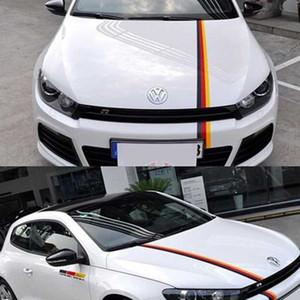 Audi, BMW Volkswagen Vücut çıkartması için 3 Renk Araç Çiçek Çıkartmaları