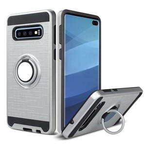 For Samsung J7 Prime J3 J5 J2 J1 ACE ON5 G55 S7 S6 G930A I9082 7106 360 Degree Rotating Ring Holder Kickstand Bracket Protection Phone Case