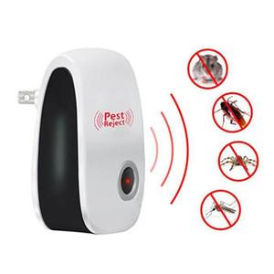 Elektronische Ultraschallantimoskito InsektRepeller Ratte Maus Schabe Spinnen Pest Reject Repellent Schädlingsbekämpfung EU / US / UK-Stecker DBC DHA139