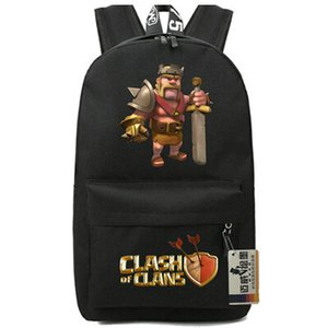 바바리안 킹 배낭 강력한 역할의 하루 팩 뜨거운 게임 학교 가방 멋진 팩팩 인쇄 배낭 스포츠 schoolbag 야외 daypack