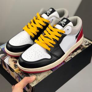 2020 New Union LA 1 Low Basketball Shoes 1s UNC Multicolor Fashion Mens Trainers Women Designer Sports Sneakers Size 36-45