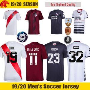 19 20 River Plate Camisas de Futebol BORRE PONZIO 2019 PRATTO QUINTERO Camisa de Futebol River Plate 70 Anos Camiseta Camisa Alternativa