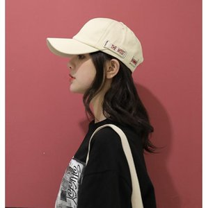 Hat Korean version of the wave of fashion cap female street hipster fashion baseball cap face small summer sun protection cap spring
