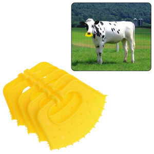 Cattle 5Pcs Vitello Weaner plastica Naso anello anti-Succhiare Miling stop Thorn svezzamento Attrezzo di aiuto Macchinari per bestiame Per Farm
