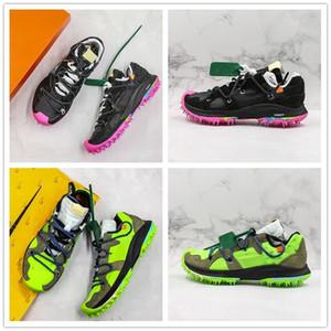 2019 Yeni Varış Tasarımcı Moda Erkek Kadın Spor Sneaker Yakınlaştırma Terra Kiger 5 Koşu Ayakkabıları Kapalı Yeşil Siyah Pembe