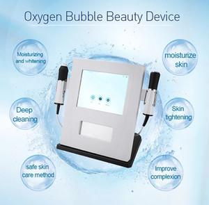 2020 أشدها حرارة 3 في 1 الأكسجين آلة العلاج آلة الموجات فوق الصوتية RF العناية بالبشرة CO2 فقاعة الأكسجين حب الشباب Waesen صالون تجميل