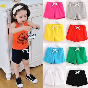 Kinder Designer Kleidung Mädchen Jungen Shorts Kinder Candy Farbe Shorts 2019 Sommer Boutique Baby Kleidung kurze Strandhosen C6695