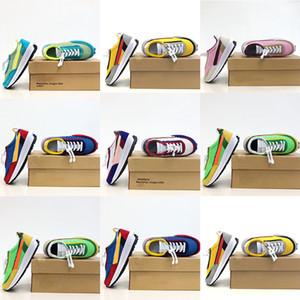 scarpe Neonati Toddlers bambini Sacaily x LDV Waffle pacchetto Scarpe Pino Verde Giallo Verde Gusto Sc LDV Waffle per bambini Gioventù Femminile Esecuzione