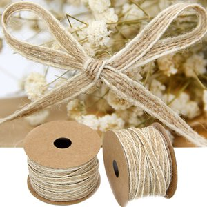 IY Apparel Sewing & Fabric Ribbons 10M Roll Jute Ribbon For DIY Fabric Ribbons Crafts Vintage Rustic Wedding Birthday Party Christmas...