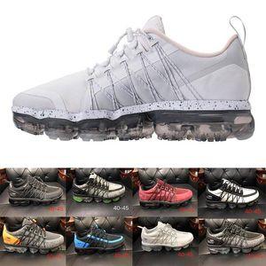 2018 Chaussures Utility FK Erkekler kutusuyla Gök Teal Mens Eğitmenler Marka Örme Tasarımcı Sneakers 2 Zapatos Boyut 7-11 Koşu Ayakkabıları