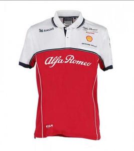 F1 Formula 1 Polo gömlek tişört Puma takımı servisi yeni Ferrari yarış takım elbise yaka tişört sürme 2020 çabuk kuruyan kısa kollu