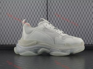 New Second Generation Air FW Retro Triple S Sneakers Men Fashion Vintage Kanye West Xshfbcl Grandpa Sneakers Casual Shoes