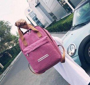 2019 Schweden Marke Teenager-Rucksäcke für Mädchen Leinwand ackpack Reisetasche Frauen große Kapazitäts-Marke Taschen für Mädchen Mochila