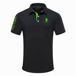 Golf T-shirt Homens New Summer manga curta MARKLONA Sports Golf roupas de lazer camisa Badminton Correndo beisebol Lazer Camisas Sport