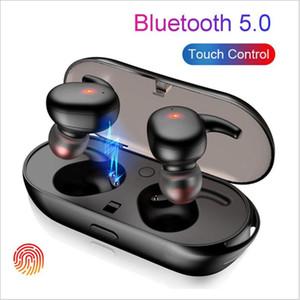 Akıllı Telefonlar için yuva Şarj ile TWS4 Kablosuz Kulaklık Bluetooth 5.0 Stereo i11 i12 Kulaklık Su geçirmez Spor Kulaklık Kulak Kulaklıklarını