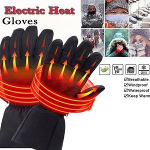 Nachladbare elektrische Beheizte Handschuhe Batterie beheizt Füße Handwärmer Winter Outdoor-Handschuhe