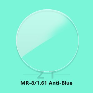 1.61 optical lenses progressive Myopia Hyperopia anti-blue ray lens clear CR-39 resin aspheric eyeglass lenses MR-8