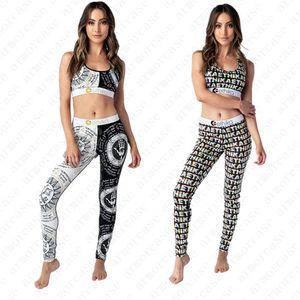 Designer 2020 de Mulheres Swimsuit 2 Pieces Set I-Forma Sports Bra Push Up tanque vest + Pants Leggings Swimwear Marca Treino Praia Suits D52001