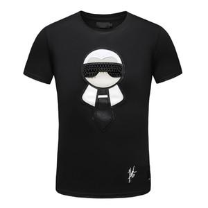 Créateurs de mode T-shirts pour hommes Polos en coton à manches courtes Medusa T-shirts rigolos Harajuku T-shirt simple