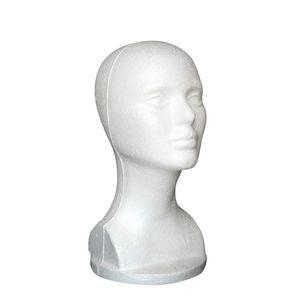 Nouvelle mode chapeau perruque de cheveux mannequin stand tête d'affichage modèle tete de perruque S1