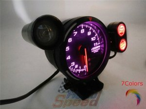 CR avance A1 BF 3 bar 7colors turbo 3BAR Gauge reales medidores de advertencia metros Car Racer ZD Racing labrar iHZf #