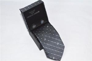carta lazos para hombre de la nueva marca de moda hombreArmani corbatas Hombre Gravata Delgado negocio del lazo clásico Casual 2 colores corbata para los hombres