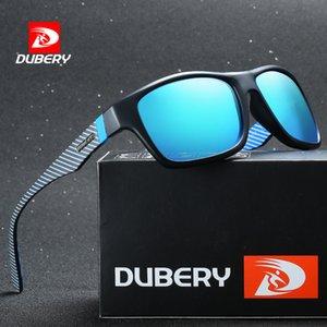 DUBERY Polarized Sunglasses Men Driving Eyewear Male Sun Glasses For Men Retro Cheap Brand Designer Gafas De sol