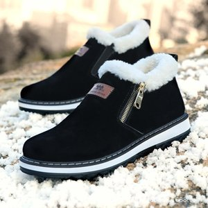 Winter Casual Foreign Trade Cross Border Autumn New Snow Boots Men's Low Cut Men's Boots