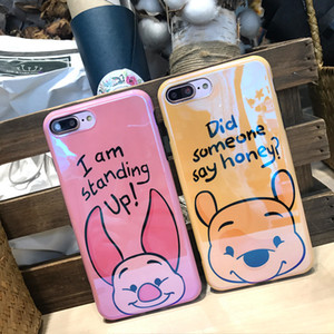 Same Cute Cartoon Is Suitable For The 7plus 8 6s Blue-light Protection Case of The Apple X Mobile Phone Case