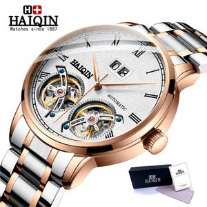 montres pour hommes Haiqin / automatique / mécanique Tourbil le sport imperméable / Wristwatch reloj hombre