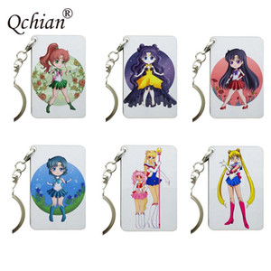 Anime Sailor Moon Keychain Key Ring Car Motorcycle Backpack Key Decoration Pendant Jewelry Gift for Friends