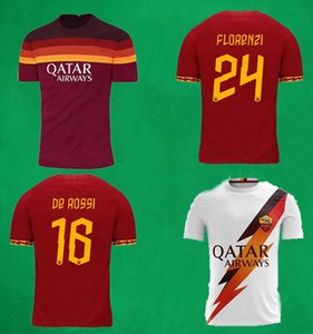 19 20 21 ROMA Fußball-Trikots Shorts 20 21 DZEKO PEROTTI PASTORE ZANIOLO TOTTI ROM-Fußball-Hemden camisa de futebol Männer Fußballuniform