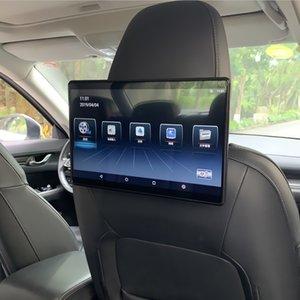 12,5-дюймовый Android 9,0 2 Гб + 16 Гб 4K 1080P Автомобильный подголовник монитор с сенсорным экраном MP5 WIFI / Bluetooth / USB / SD / HDMI ссылку / FM / Miracast / Зеркало