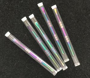Strumenti DAB Smoking Metal DABBER STRUMENTO Vendita al dettaglio Imballaggio individuale Rainbow Gold Siliver per Bongs Bongs Ambientazione interna